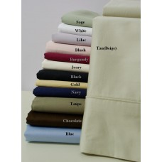 300 Thread Count Egyptian Cotton Pillow Cases - Standard