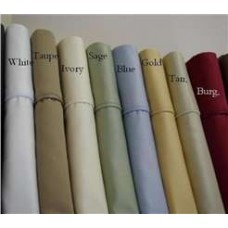600 Thread Count Egyptian Cotton Pillow Cases - Standard